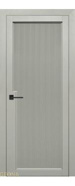 Межкомнатная дверь Уника 1 ПВХ-шпон Софт грин