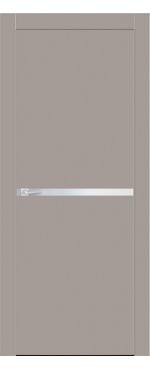 ДверьМежкомнатная дверь  Gloss M-1 Mатовый Cофт блэк