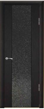 Дверь Люкс 1/2 триплекс с тканью