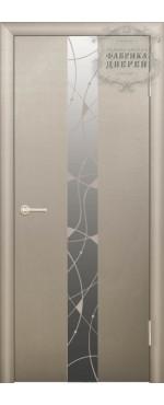 Дверь Экзотика с зеркалом ДО