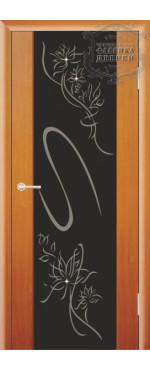 Дверь Стиль с рисунком ДО
